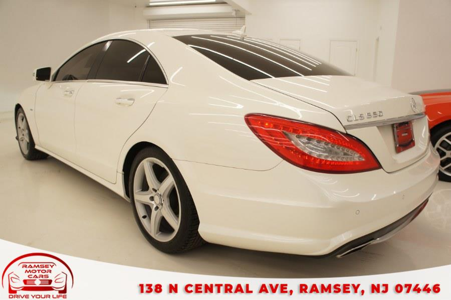 Used Mercedes-Benz CLS-Class 4dr Sdn CLS550 4MATIC 2012 | Ramsey Motor Cars Inc. Ramsey, New Jersey