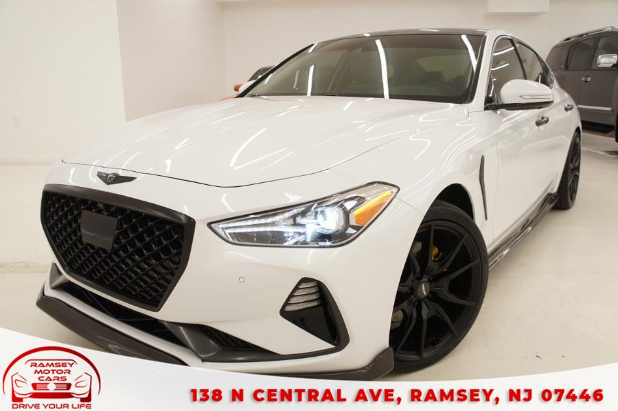 Used 2019 Genesis G70 in Ramsey, New Jersey | Ramsey Motor Cars Inc. Ramsey, New Jersey