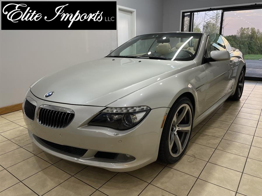 Used BMW 6 Series 650i 2dr Convertible 2008   Elite Imports LLC. West Chester, Ohio