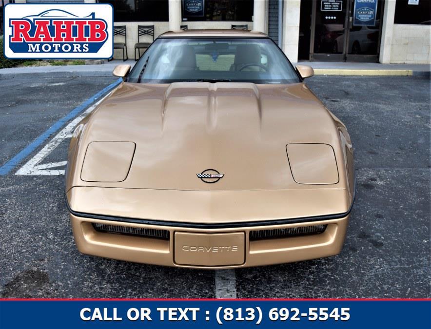 Used Chevrolet Corvette 2dr 1985   Rahib Motors. Winter Park, Florida