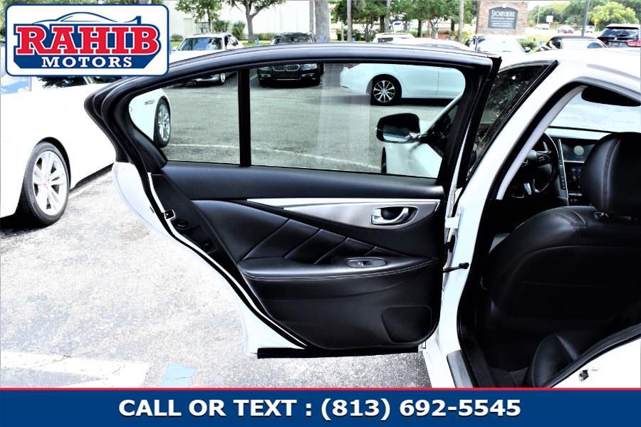 Used INFINITI Q50 4dr Sdn Premium RWD 2014 | Rahib Motors. Winter Park, Florida