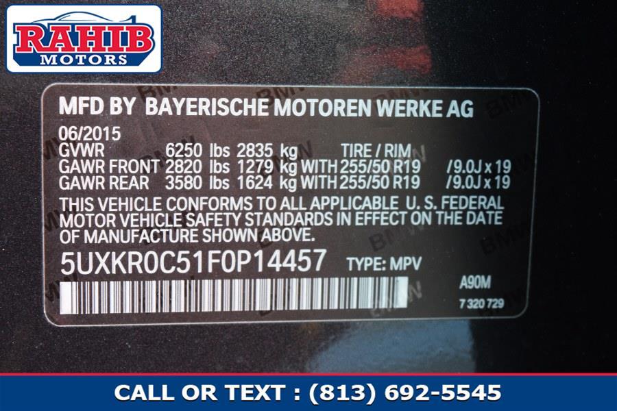 Used BMW X5 AWD 4dr xDrive35i 2015   Rahib Motors. Winter Park, Florida