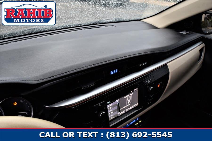 Used Toyota Corolla 4dr Sdn Auto L (Natl) 2014 | Rahib Motors. Winter Park, Florida