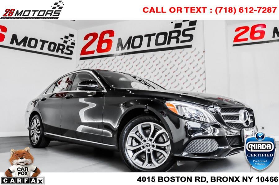 Used Mercedes-Benz C-Class C 300 4MATIC Sedan 2018   26 Motors Corp. Bronx, New York