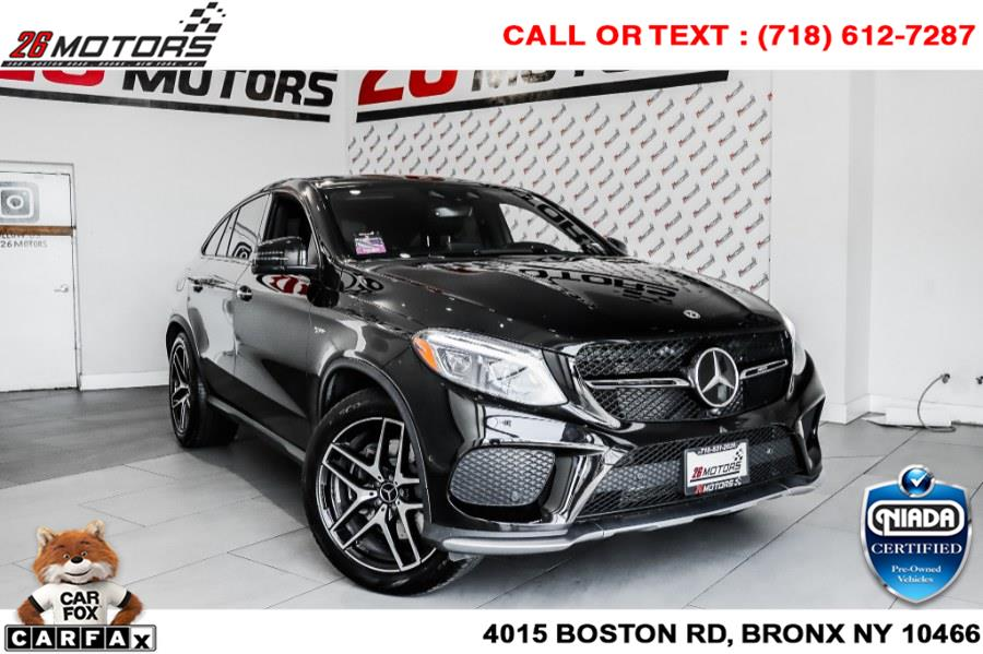 Used Mercedes-Benz GLE AMG GLE 43 4MATIC Coupe 2018 | 26 Motors Corp. Bronx, New York