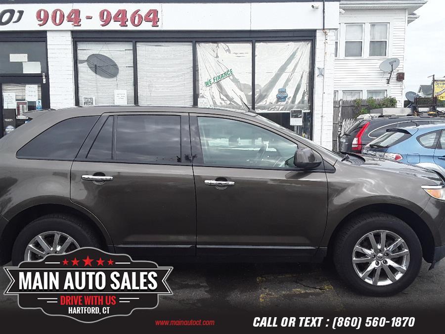 Used Ford Edge 4dr SEL AWD 2011 | Main Auto Sales LLC. Hartford, Connecticut