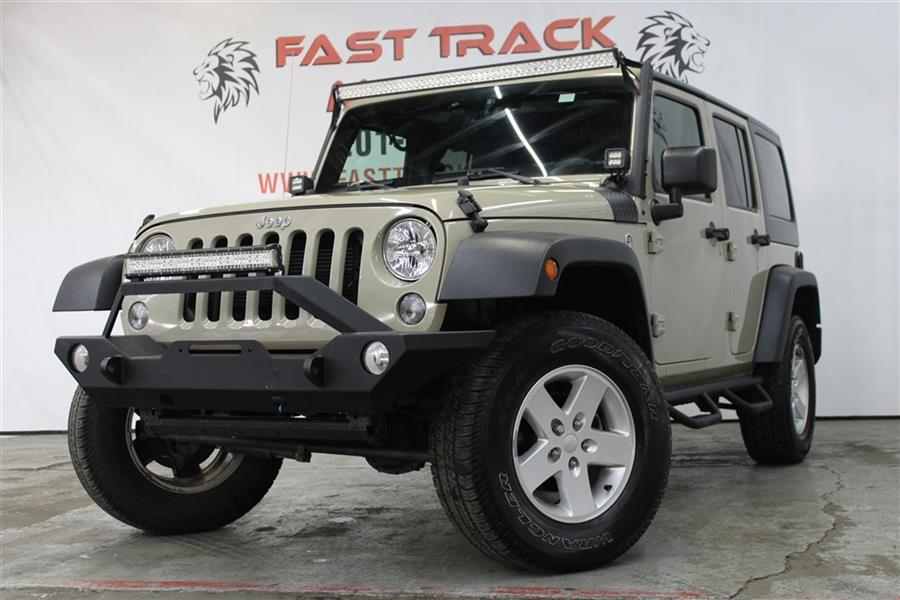 Used Jeep Wrangler Unlimited SPORT 2017 | Fast Track Motors. Paterson, New Jersey
