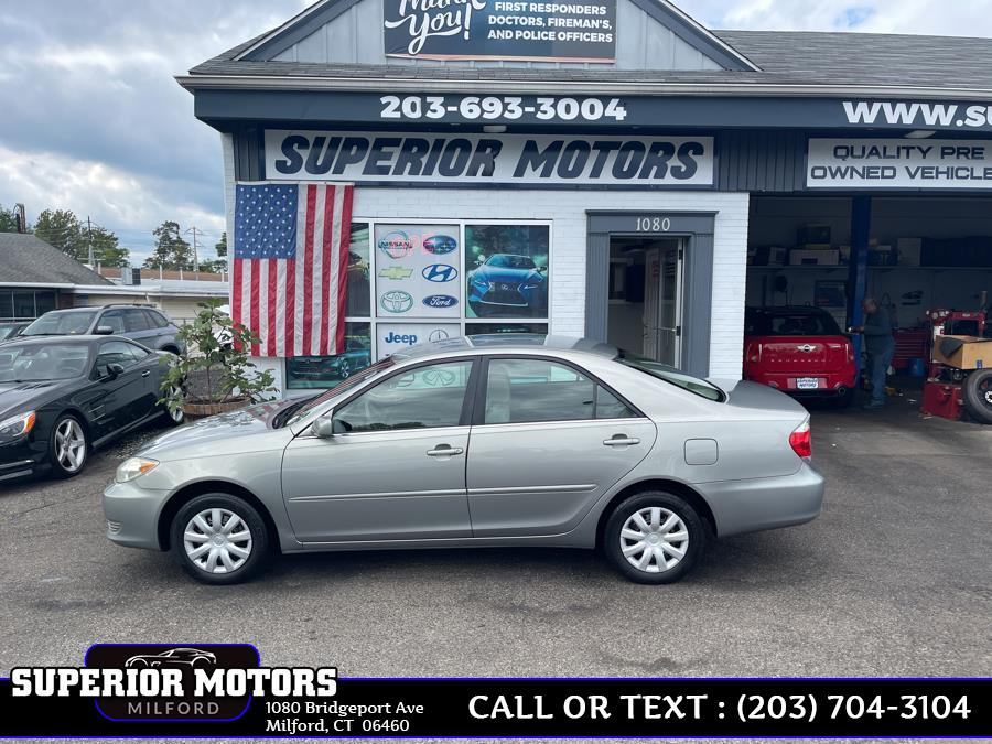 Used 2005 Toyota Camry LE in Milford, Connecticut | Superior Motors LLC. Milford, Connecticut