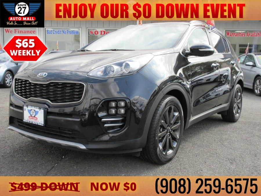 Used 2018 Kia Sportage in Linden, New Jersey | Route 27 Auto Mall. Linden, New Jersey