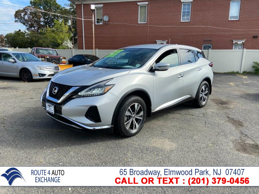 Used Nissan Murano AWD S 2019   Route 4 Auto Exchange. Elmwood Park, New Jersey