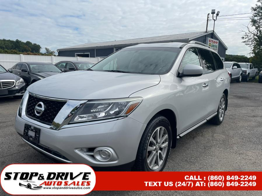 Used 2014 Nissan Pathfinder in East Windsor, Connecticut | Stop & Drive Auto Sales. East Windsor, Connecticut