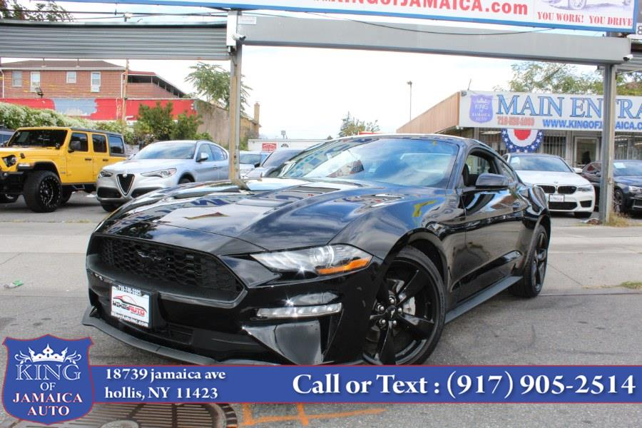 Used Ford Mustang EcoBoost Premium Fastback 2021 | King of Jamaica Auto Inc. Hollis, New York
