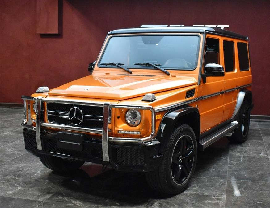 Used Mercedes-benz G-class AMG G 63 2017   Select Motor Cars. Deer Park, New York