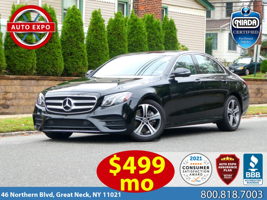 Used 2019 Mercedes-benz E-class in Great Neck, New York | Auto Expo Ent Inc.. Great Neck, New York