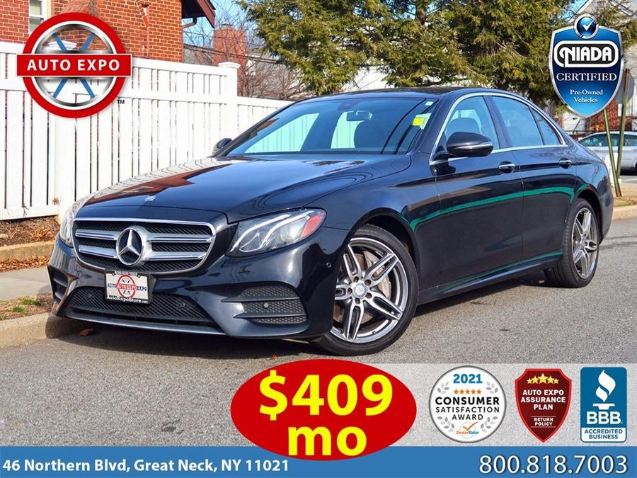 Used 2018 Mercedes-benz E-class in Great Neck, New York | Auto Expo Ent Inc.. Great Neck, New York