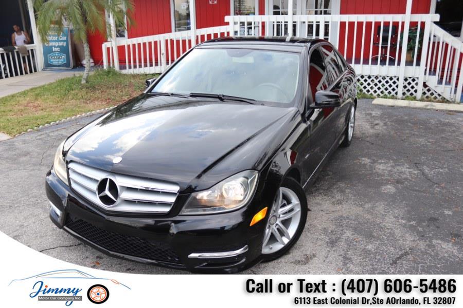 Used Mercedes-Benz C-Class 4dr Sdn C250 Sport RWD 2012 | Jimmy Motor Car Company Inc. Orlando, Florida
