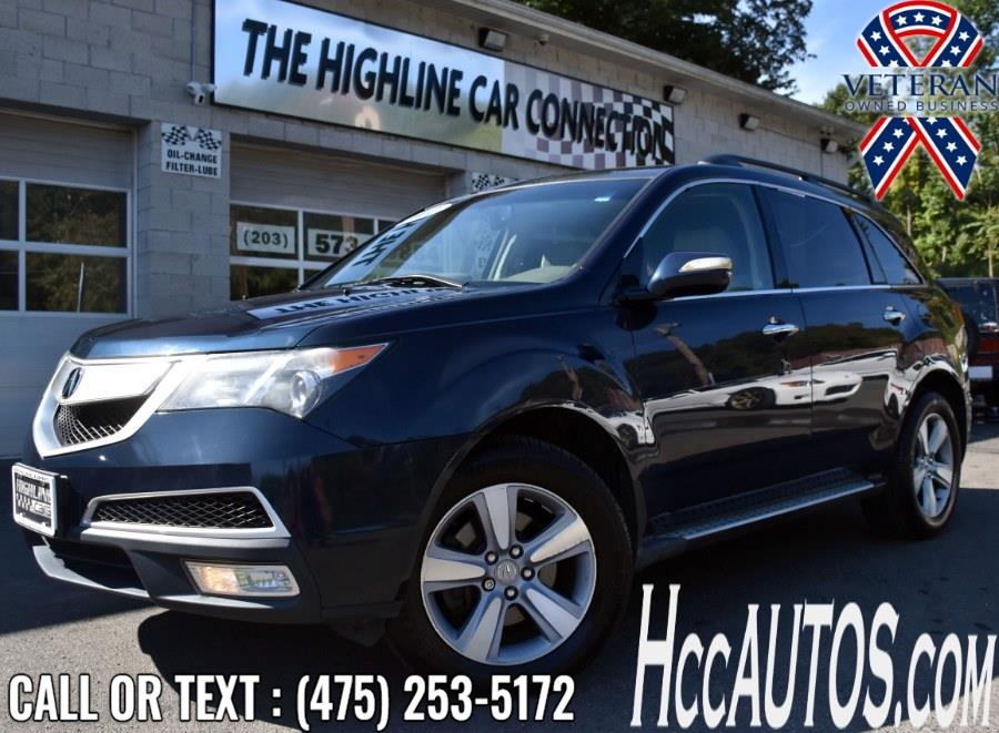 Used Acura MDX AWD 4dr Tech Pkg 2012   Highline Car Connection. Waterbury, Connecticut