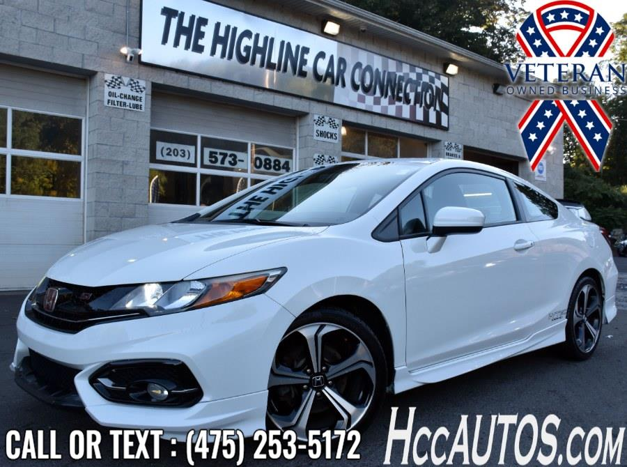 Used Honda Civic Coupe 2dr Man Si 2015 | Highline Car Connection. Waterbury, Connecticut
