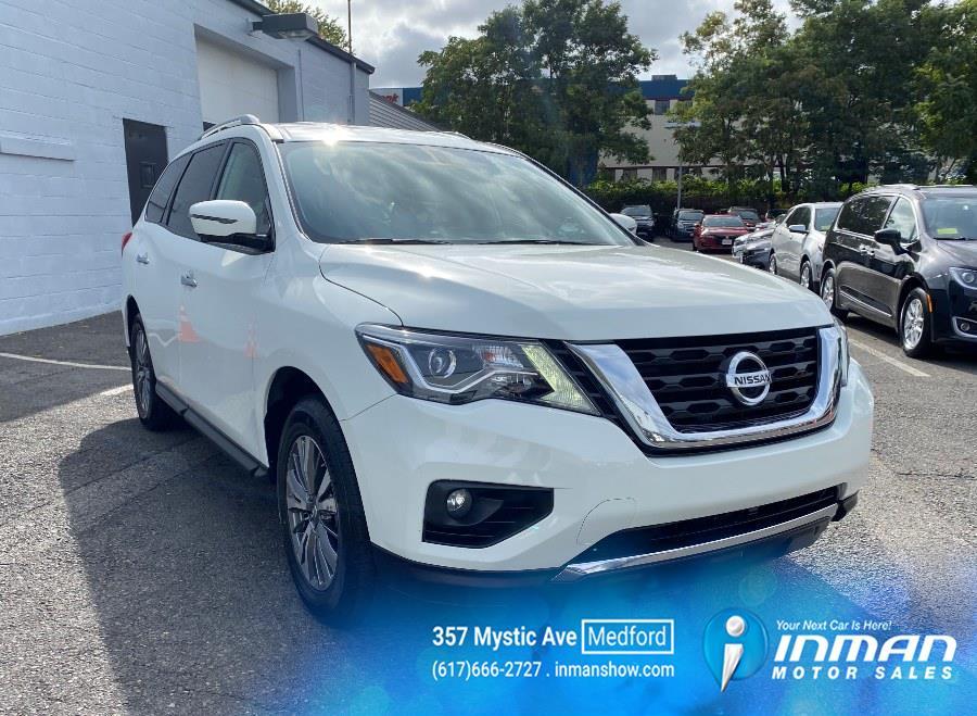 Used Nissan Pathfinder 4x4 SL 2020 | Inman Motors Sales. Medford, Massachusetts
