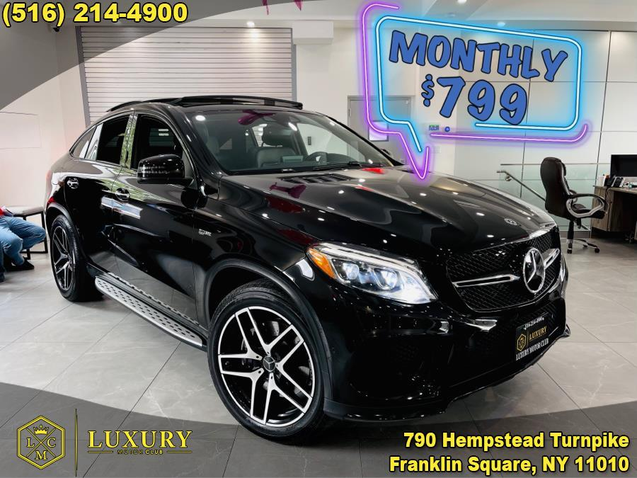 Used Mercedes-Benz GLE AMG GLE 43 4MATIC Coupe 2018 | Luxury Motor Club. Franklin Square, New York