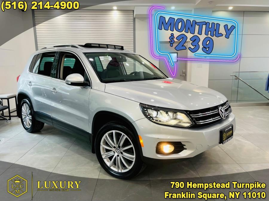 Used Volkswagen Tiguan 4MOTION 4dr Auto SE 2016   Luxury Motor Club. Franklin Square, New York