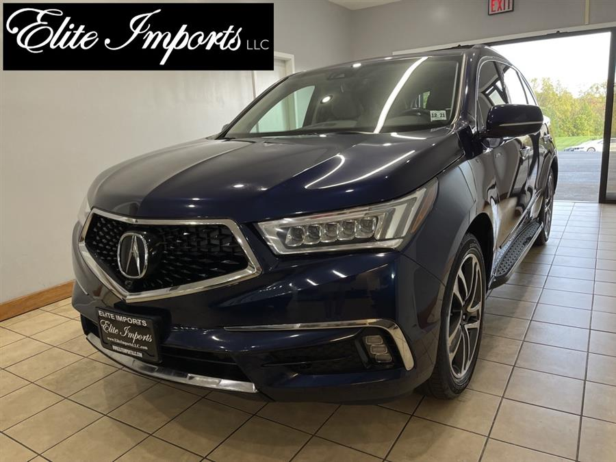 Used Acura Mdx SH AWD w/Advance 4dr SUV Package 2017   Elite Imports LLC. West Chester, Ohio