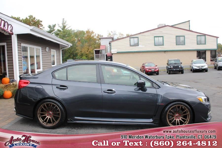 Used Subaru WRX 4dr Sdn Man Limited 2015   Auto House of Luxury. Plantsville, Connecticut