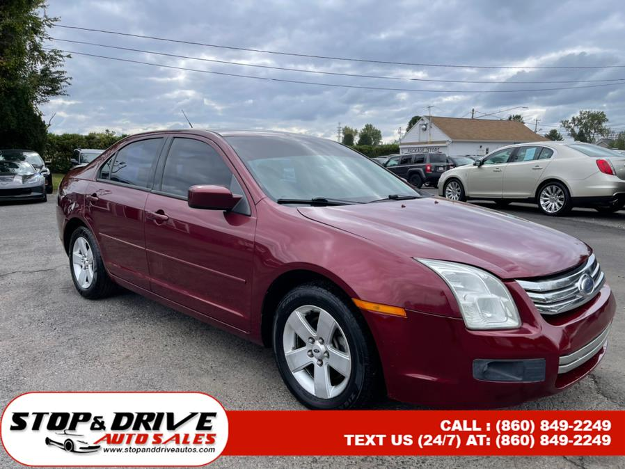 Used Ford Fusion 4dr Sdn I4 SE FWD 2007   Stop & Drive Auto Sales. East Windsor, Connecticut