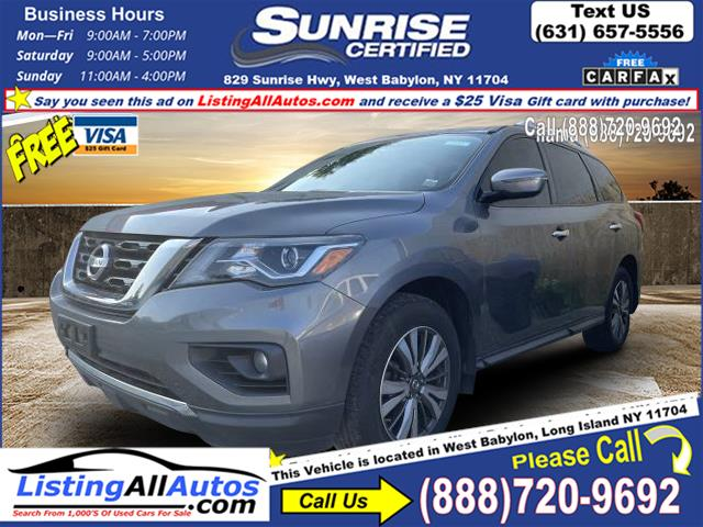 Used 2018 Nissan Pathfinder in Patchogue, New York   www.ListingAllAutos.com. Patchogue, New York