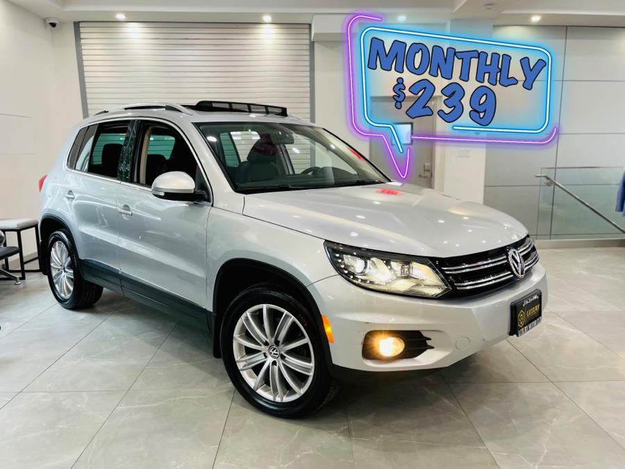 Used Volkswagen Tiguan 4MOTION 4dr Auto SE 2016 | C Rich Cars. Franklin Square, New York