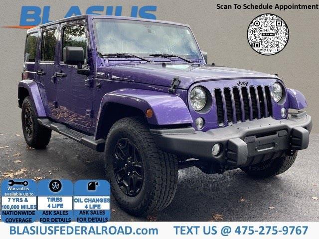 Used Jeep Wrangler Unlimited Sahara 2016 | Blasius Federal Road. Brookfield, Connecticut