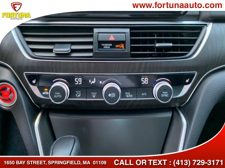 Used Honda Accord Sedan EX-L 1.5T CVT 2018   Fortuna Auto Sales Inc.. Springfield, Massachusetts