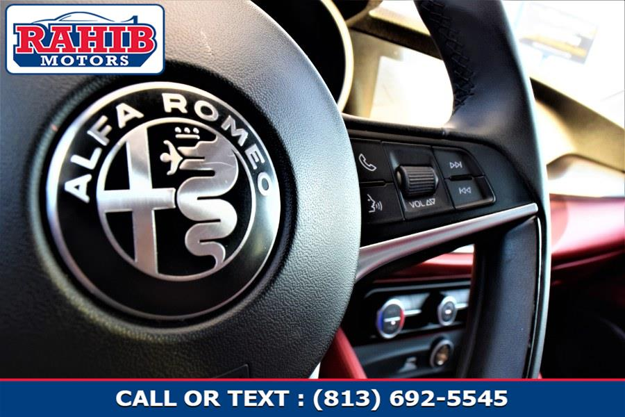 Used Alfa Romeo Stelvio AWD 2018 | Rahib Motors. Winter Park, Florida