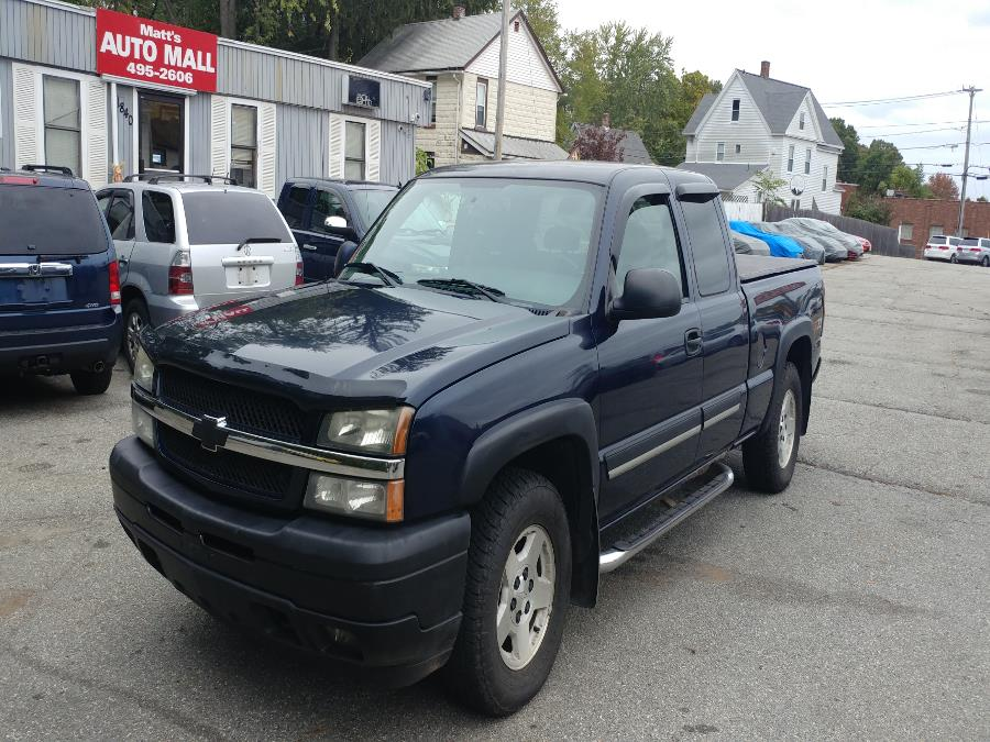 "Used Chevrolet Silverado 1500 Ext Cab 143.5"" WB 4WD Z71 2005 | Matts Auto Mall LLC. Chicopee, Massachusetts"