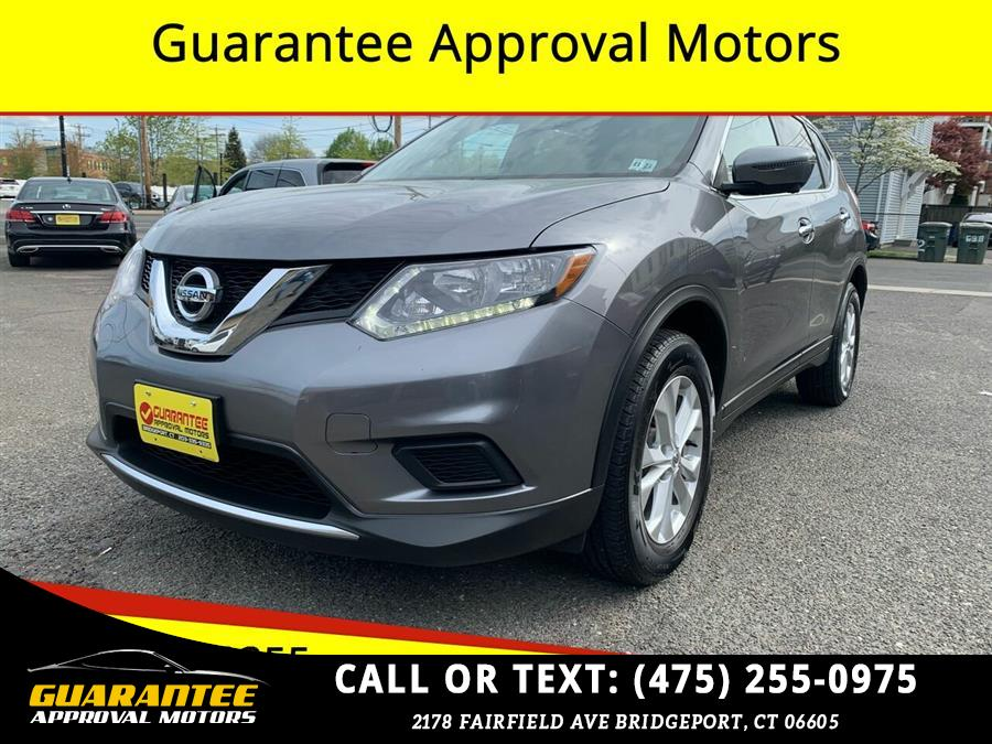 Used Nissan Rogue AWD 4dr S 2016   Guarantee Approval Motors. Bridgeport, Connecticut