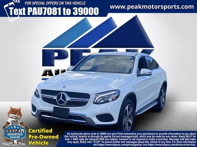 Used Mercedes-Benz GLC GLC 300 4MATIC Coupe 2018   Peak Automotive Inc.. Bayshore, New York
