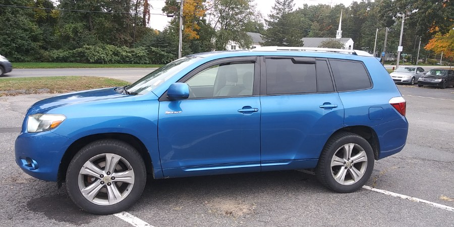 Used Toyota Highlander 4WD 4dr Sport 2008 | Payless Auto Sale. South Hadley, Massachusetts