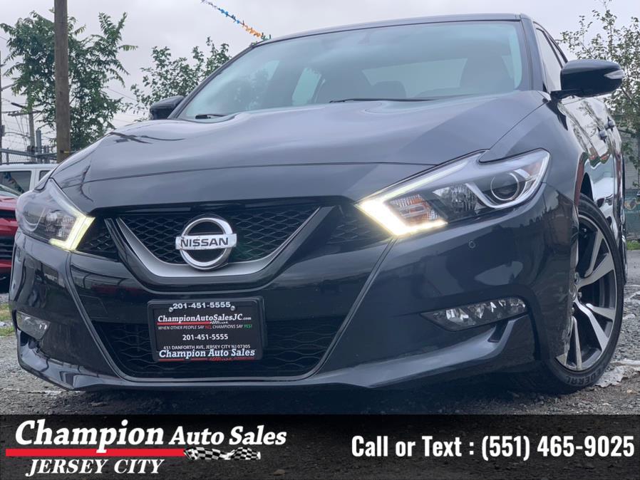 Used Nissan Maxima SR 3.5L 2017 | Champion Auto Sales of JC. Jersey City, New Jersey