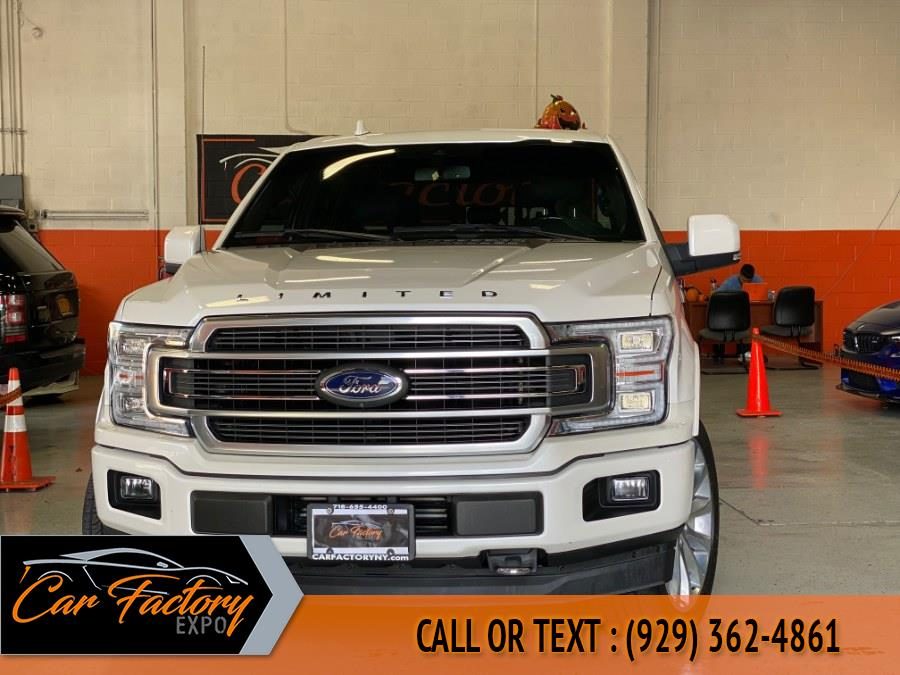 Used Ford F-150 Limited 4WD SuperCrew 5.5'' Box 2018   Car Factory Inc.. Bronx, New York
