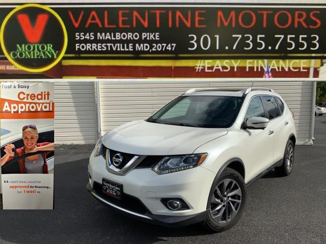 Used Nissan Rogue SL 2016 | Valentine Motor Company. Forestville, Maryland