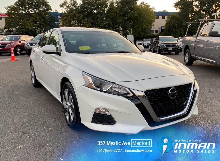 Used Nissan Altima 2.5 S Sedan 2020   Inman Motors Sales. Medford, Massachusetts