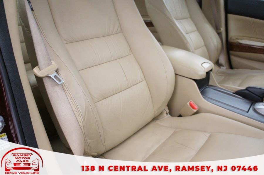 Used Honda Accord Sdn 4dr V6 Auto EX-L w/Navi 2011 | Ramsey Motor Cars Inc. Ramsey, New Jersey