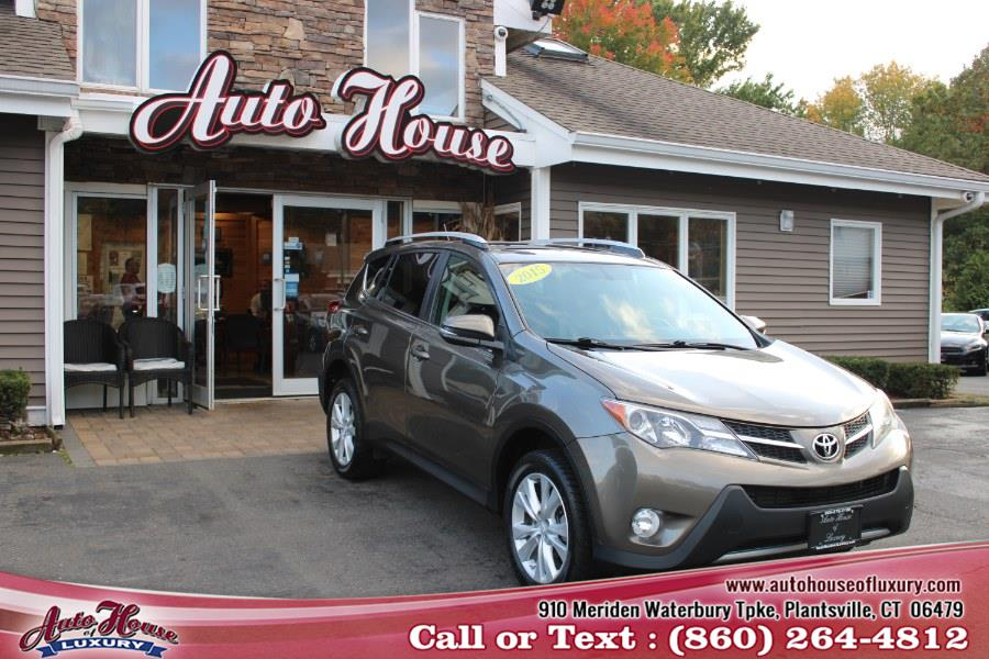 Used Toyota RAV4 AWD 4dr Limited (Natl) 2015 | Auto House of Luxury. Plantsville, Connecticut