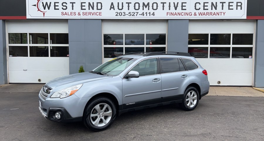 Used Subaru Outback 4dr Wgn H4 Auto 2.5i Limited 2013 | West End Automotive Center. Waterbury, Connecticut