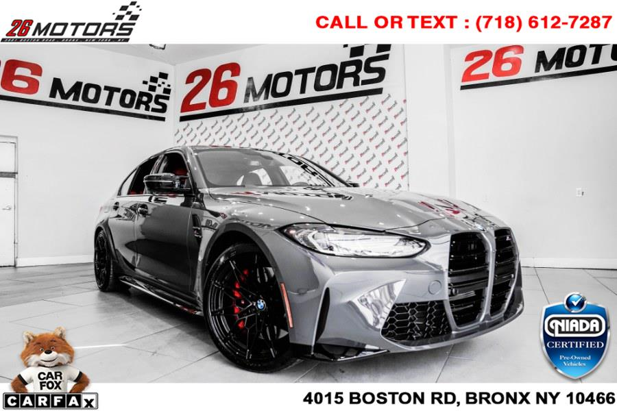 Used BMW M3 Competition Sedan 2021 | 26 Motors Corp. Bronx, New York