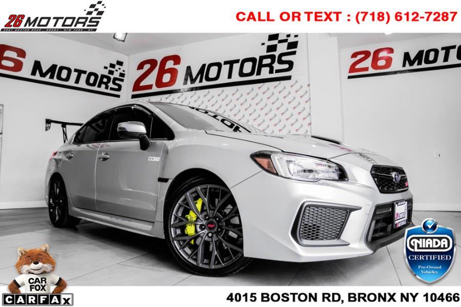 Used Subaru WRX STI Limited Manual w/Lip Spoiler 2019   26 Motors Corp. Bronx, New York