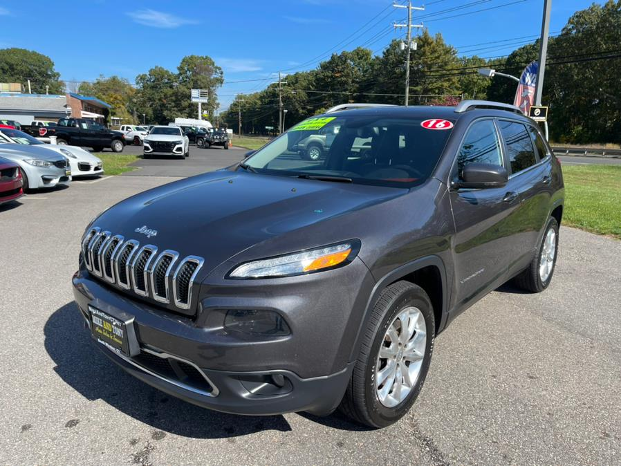 Used Jeep Cherokee 4WD 4dr Limited 2016   Mike And Tony Auto Sales, Inc. South Windsor, Connecticut