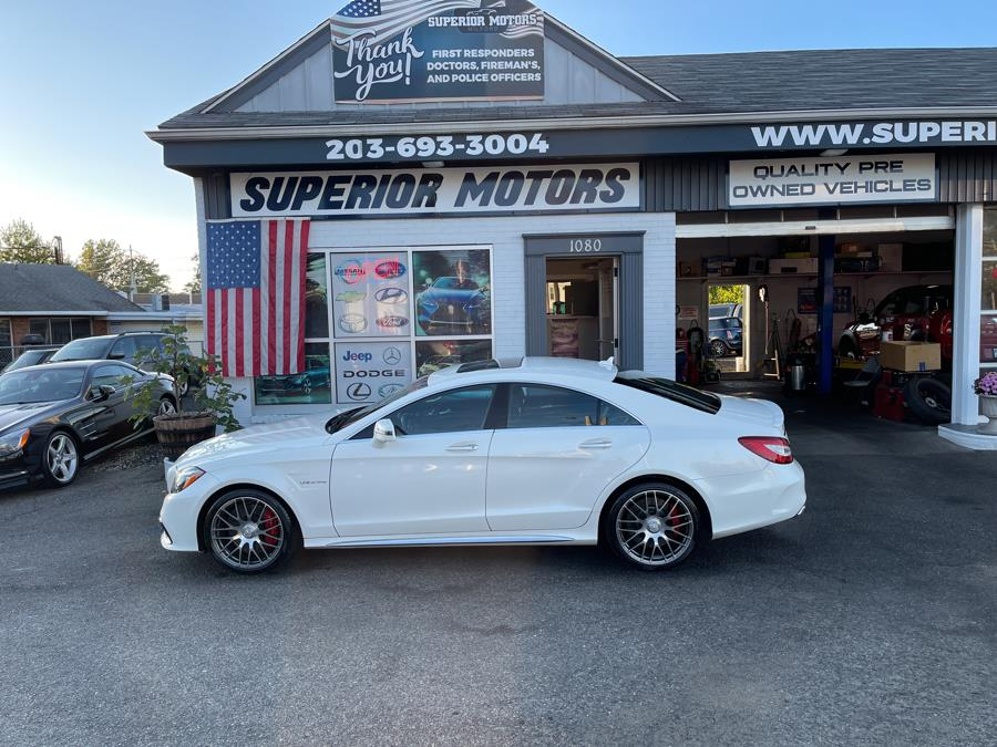 Used 2016 Mercedes-Benz CLS 63 S in Milford, Connecticut   Superior Motors LLC. Milford, Connecticut