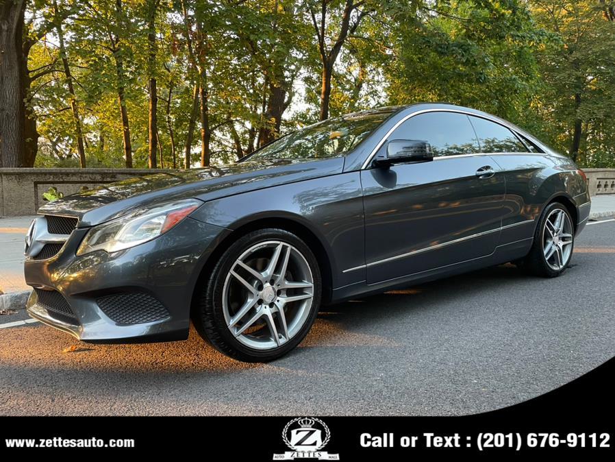 Used Mercedes-Benz E-Class 2dr Cpe E 350 RWD 2014   Zettes Auto Mall. Jersey City, New Jersey