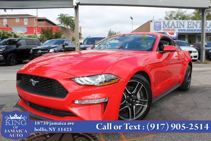 Used Ford Mustang EcoBoost Premium Fastback 2021   King of Jamaica Auto Inc. Hollis, New York
